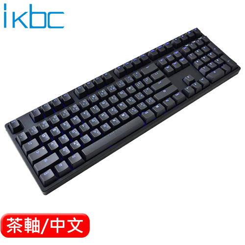 ikbc TD108 機械鍵盤 黑 Cherry MX 茶軸