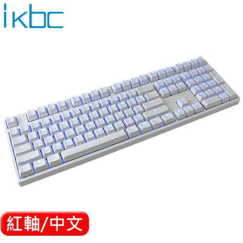 ikbc TD108 機械鍵盤 白 Cherry MX 紅軸