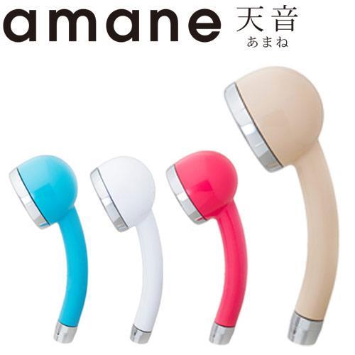 【全日本製】天音Amane極細省水高壓淋浴蓮蓬頭(白色)
