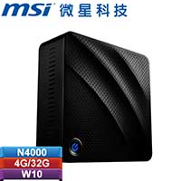 MSI微星 Cubi N 8GL-016TW-BN40004G03X10MBF 迷你电脑