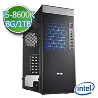 技嘉Z370平台【鬼甲圣使II】i5六核 1TB效能电脑