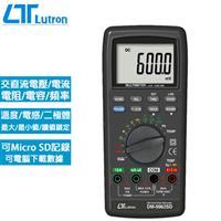 Lutron路昌 記憶式TRMS 3 5/6三用電錶 DM-9962SD