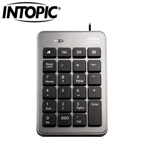 INTOPIC 廣鼎 N69 USB 數字鍵盤