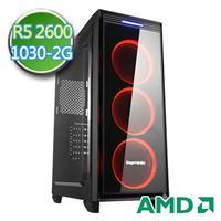 技嘉B450平台【扶桑殺手】Ryzen六核 GT1030-2G獨顯 1TB效能電腦