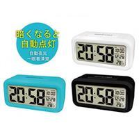 kinyo 簡約光控聰明鐘TD-331 (顏色隨機)