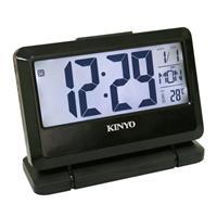 KINYO 大字幕LCD多功能電子鐘TD-391