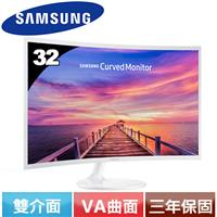 R1【福利品】SAMSUNG 32型曲面液晶螢幕C32F391FWE