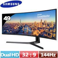 R1【福利品】SAMSUNG 49型 超寬曲面液晶螢幕  C49J890DKE