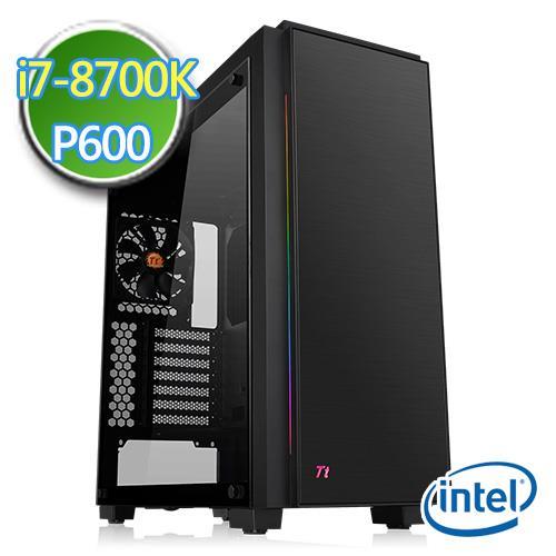技嘉Z370平台【肃正文艺II】i7六核 P600-2G绘图独显 1TB效能电脑