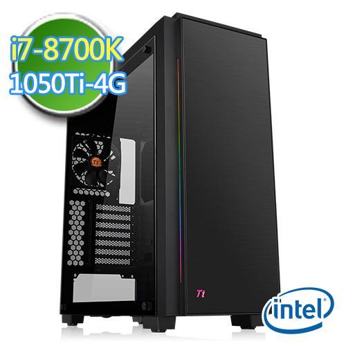 技嘉Z370平台【肃正盔甲II】i7六核GTX1050Ti-4G独显1TB效能电脑