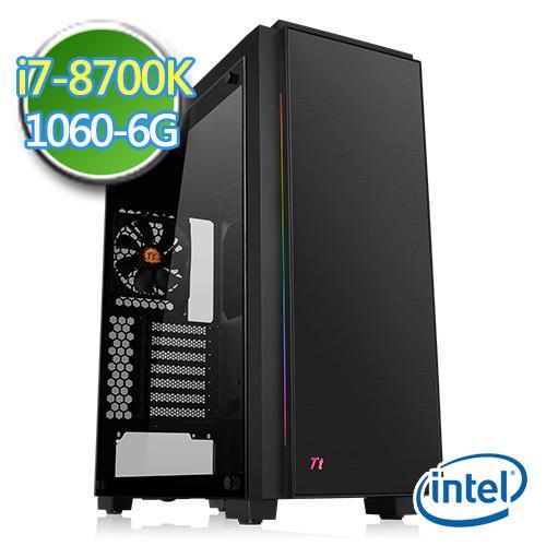 技嘉Z370平台【肃正祭司II】i7六核 GTX1060-6G独显 SSD 240G效能电脑