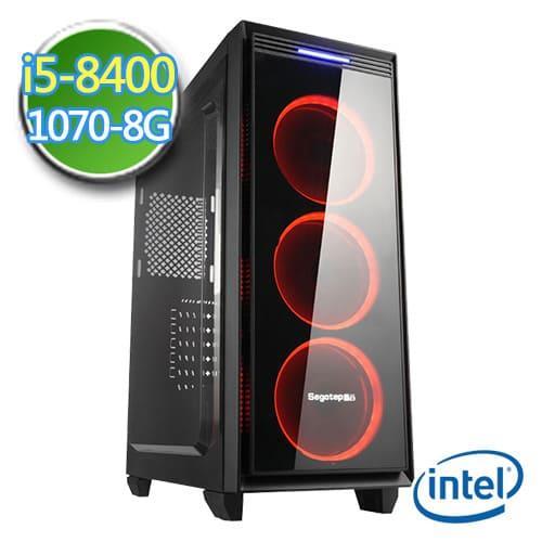 技嘉B360平台【邪兵斗神II】i5六核GTX1070-8G独显SSD240G效能电脑