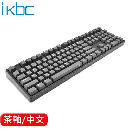 ikbc CD108 機械鍵盤 黑 Cherry MX 茶軸