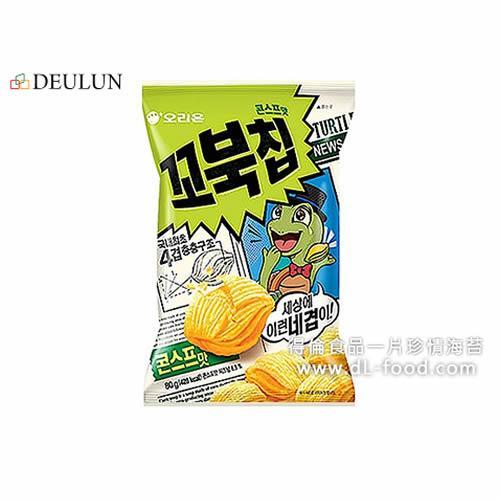 得伦 乌龟玉米脆饼 (玉米浓汤味)