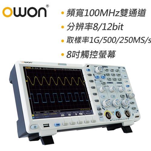 OWON 100MHz智慧型雙通道示波器 XDS3102A
