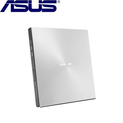 ASUS華碩 ZenDrive U9M (SDRW-08U9M-U) 美型超薄外接式燒錄機 銀