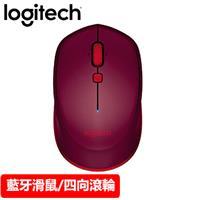 Logitech 羅技 M337 藍牙無線滑鼠 紅