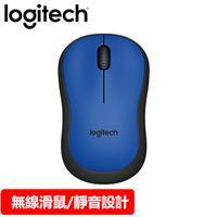 Logitech 羅技 M221 無線靜音滑鼠 藍