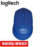 Logitech 羅技 M331 無線靜音滑鼠 藍