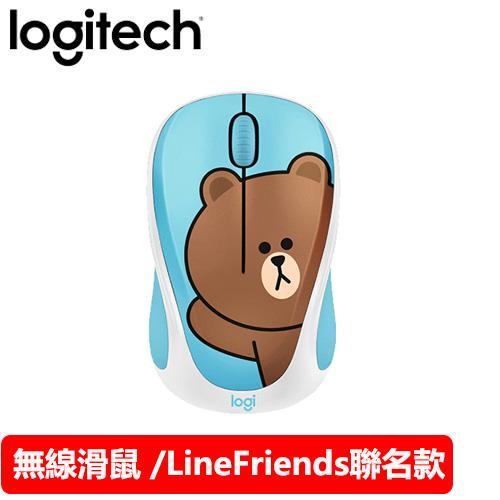Logitech 羅技 Line Friends 聯名無線滑鼠 熊大