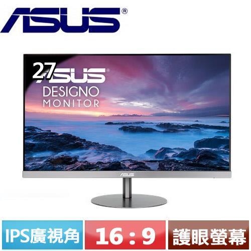 ASUS華碩 27型  MZ279HL 專業美型 護眼寬螢幕