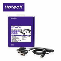 Uptech UTN408 USB to 4-Port RS-232 訊號轉換器