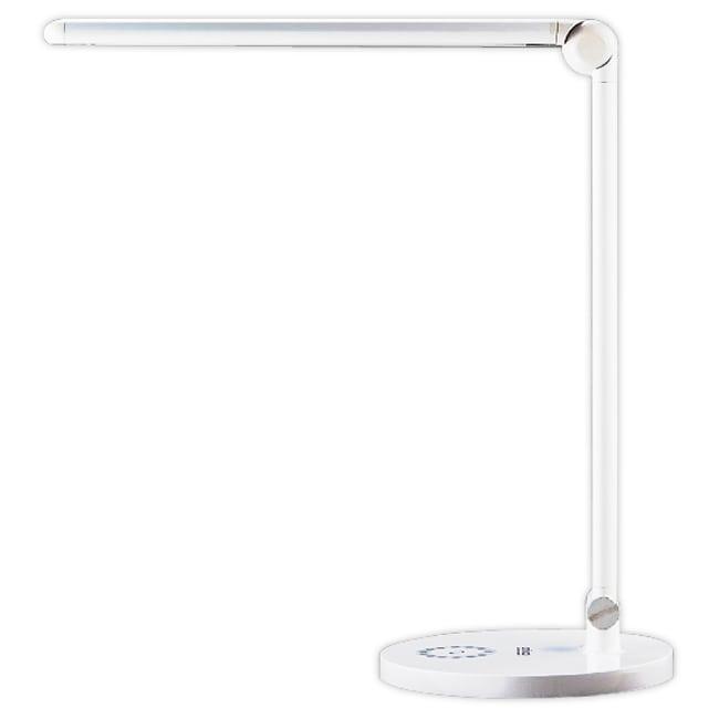 anbao安寶滑軌式LED護眼檯燈AB-7211白