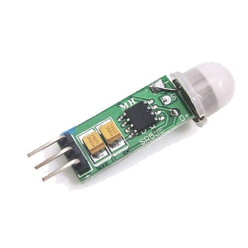 HC-SR505迷你型人體紅外線感應模組