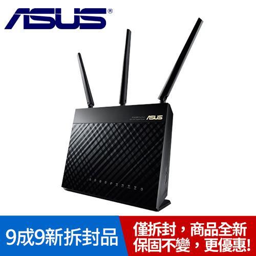 【拆封9成9新】ASUS 華碩 RT-AC68U 雙頻 AC1900 無線路由器