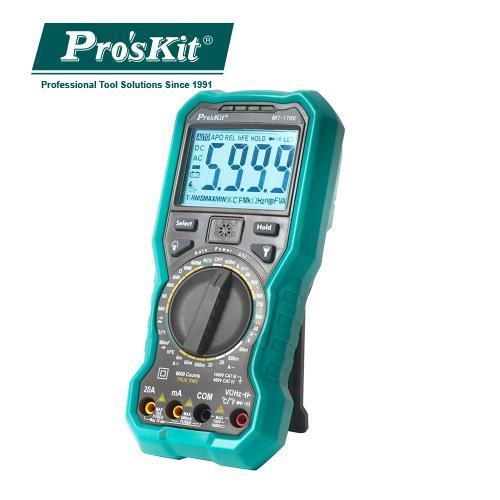 ProsKit寶工  MT-1706   3又5/6 真有效值數字電錶