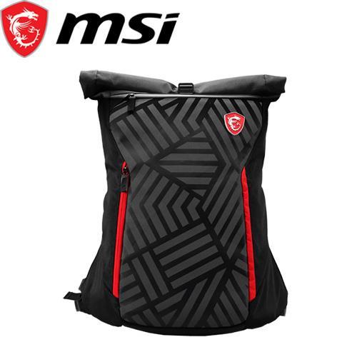 MSI微星 電競後背包-神秘騎士 Mystic Knight Backpack【限時下殺】