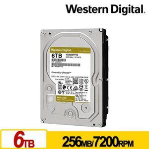 WD6003FRYZ 金標 6TB 3.5吋企業級硬碟