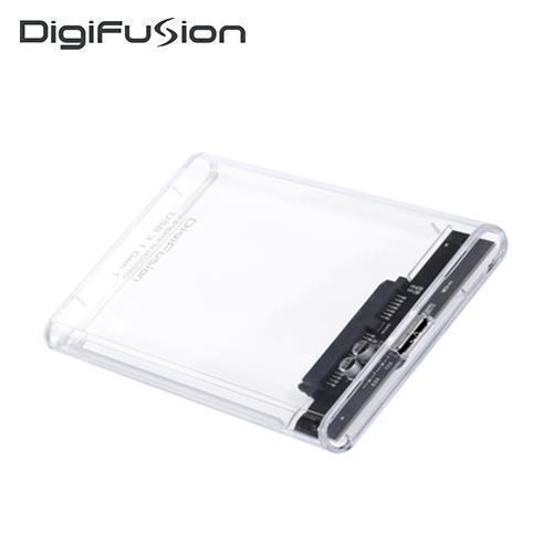 伽利略 USB3.1 Gen1 SATA/SSD 2.5吋透明版硬碟外接盒(HD-336U31S)