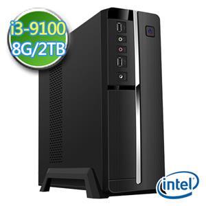 技嘉B365平台【EI391-GB365M10】i3四核 2TB效能電腦