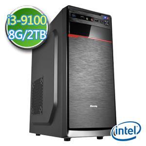 華碩B365平台【EI391-AB365M04】i3四核 2TB效能電腦