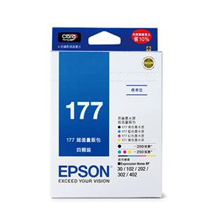 EPSON T177650 原廠墨水匣 量販包