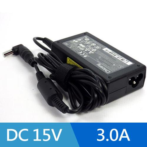 NOTEBOOK 筆記型電腦變壓器 DC15V  3A