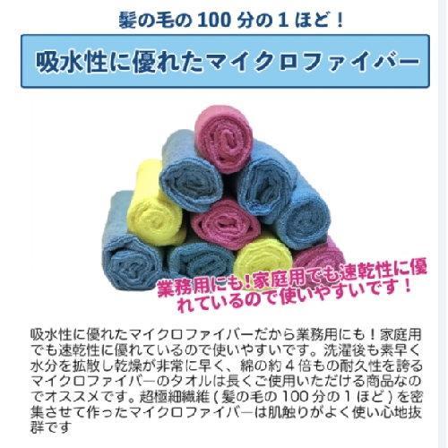 日本 YANASE 超細纖維萬用巾 業務用10枚入