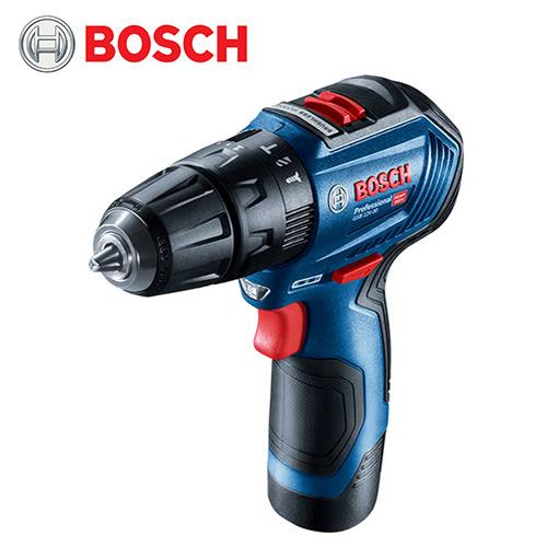 BOSCH 12V 鋰電免碳刷震動電鑽(GSB 12V-30)