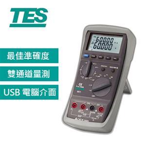 TES泰仕 4 5/6 記錄型萬用電錶 PROVA 803