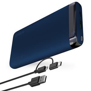 【Omars】USB Type-C(PD) + QC 3.0 快充行動電源-藍色