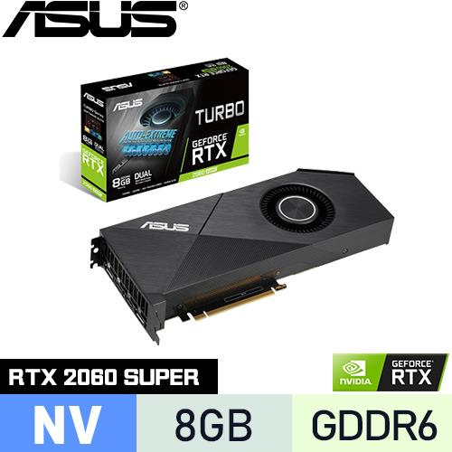 ASUS華碩 GeForce TURBO-RTX2060S-8G-EVO 顯示卡
