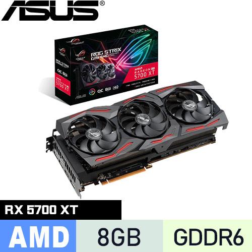 ASUS華碩 ROG-STRIX-RX5700XT-O8G-GAMING 顯示卡