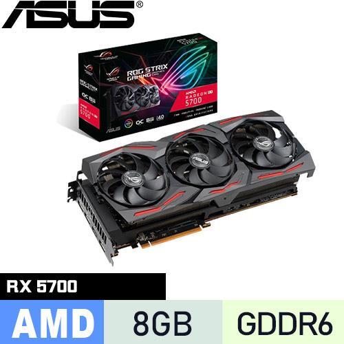 ASUS華碩 ROG-STRIX-RX5700-O8G-GAMING 顯示卡