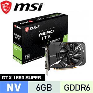 MSI微星 GeForce GTX 1660 SUPER AERO OC 顯示卡
