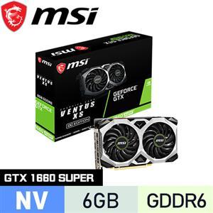 MSI微星 GeForce GTX 1660 SUPER VENTUS XS OC 顯示卡