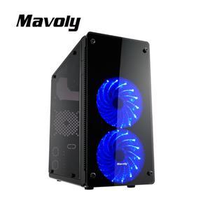 Mavoly 松聖 蘋果 USB3.0 黑化機殼-黑