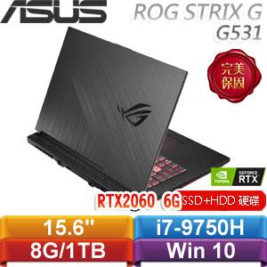 ASUS華碩 ROG STRIX G G531GV-G-0041C9750H 15.6吋電競筆電