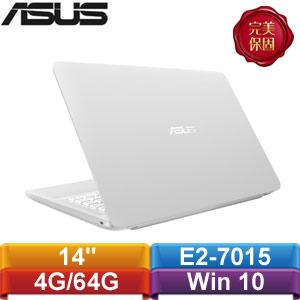 ASUS華碩 L402YA-0112AE27015 14吋筆記型電腦 天使白 ★