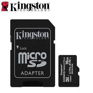 Kingston金士頓 Canvas Select Plus microSD 16G 記憶卡